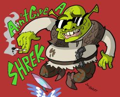 Ain't Give a Shrek by NewtMan