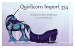 Custom Quirlicorn Import 334 by Astralseed