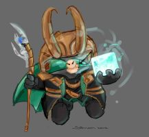 Dr.Fetus he is a Loki by SimonTheFox1