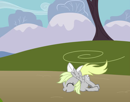 Derpy Hooves as a little pony! (in my opinion) by Momo-the-fox