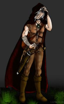 Reino RPG character colored by ladyroll