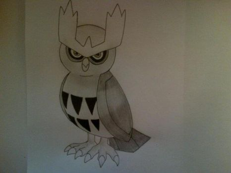 #164 Noctowl by Rawwr-Art