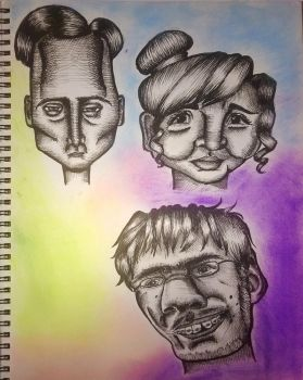 MORE faces? by ta11y16lupus