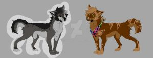 Canine adopts #1 Paypal + Points (1/2 OPEN) by Nono2002