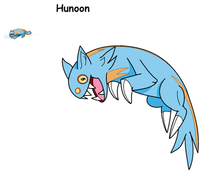 Pokefusion- Hunoon by CPtheLunarGoat