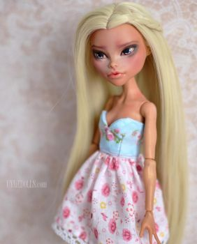 OOAK Custom Monster High doll - Nefera De Nile by Katalin89