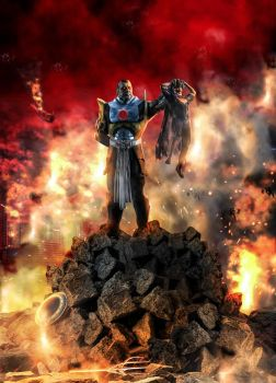 Darkseid Supermans Dearth by WANDAMBATHA