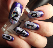 New Years Nails by Ithfifi