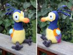 Baby Kevin Pixar's UP Remake by MilesofCrochet
