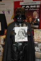Darth Vader Sketch by Noumier