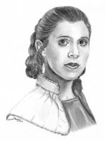 Leia in the Bespin Gown by khinson