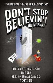 Don't Stop Believin' by k-mancini