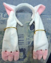 Kyubey ears by Rens-twin