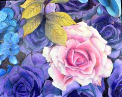 Art 3 colored pencil still life by AN1k3T0S