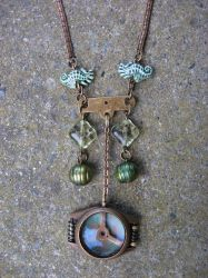 Bathysphere Pendant Necklace by Jerreth