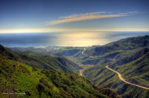 View of Malibu HDR by Mac-Wiz