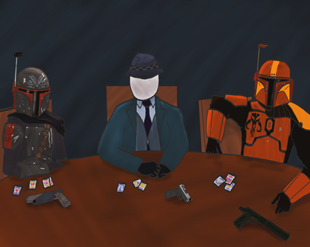 The Cantina Roundtable by Sombraptor