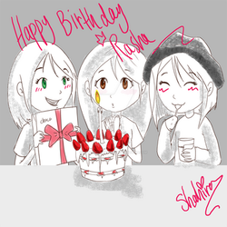 my sister's birthday by witchpowerlove