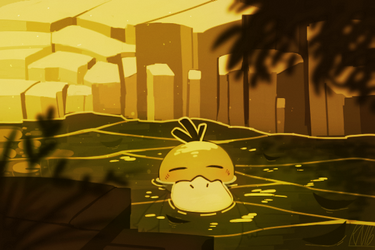 Psyduck by Urswurs