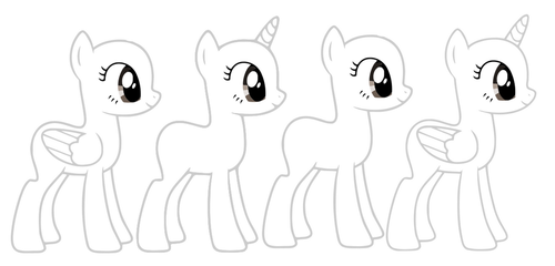 MLP Bases ^^ (anno 2016) by Itstartswithapencil