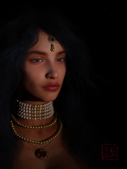 Arianne Martell by missuskisses