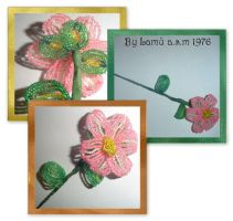 My new flowers i love pink by lamu1976