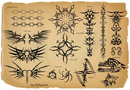 Tattoo Sheet by ShiftyRonin