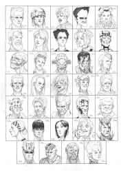 Heads 511-544 by one-thousand-heads