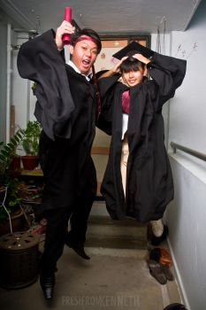 Graduation Photoshoot with sis by kenlimuim