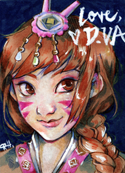 ACEO for Almyki by chid0