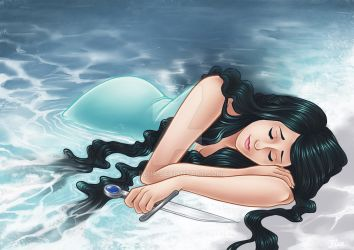 Sad Fate of the Little Mermaid by blua