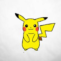 Chusuke the Pikachu  sudden fattening. by Chubbinator