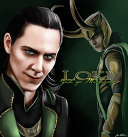 Loki: The God of Mischief by sugarpoultry