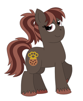 Bruce x Cupcake: Tough Cookie by Strawberry-Spritz