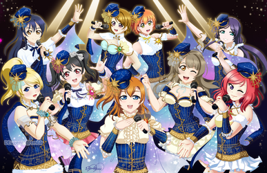 Love Live Constellation by Lualapin