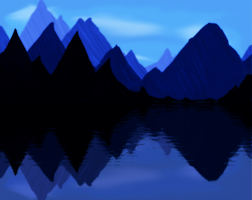 Blue Mountains by onClipEvent