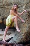 Zoe - lemon dress climb 1 by wildplaces