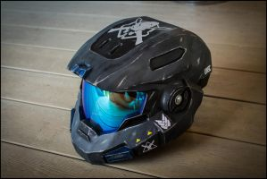 HALO Reach MkV (B) Helmet 100% by ManAtArmsProps