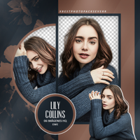 Png Pack 2983 - Lily Collins by southsidepngs
