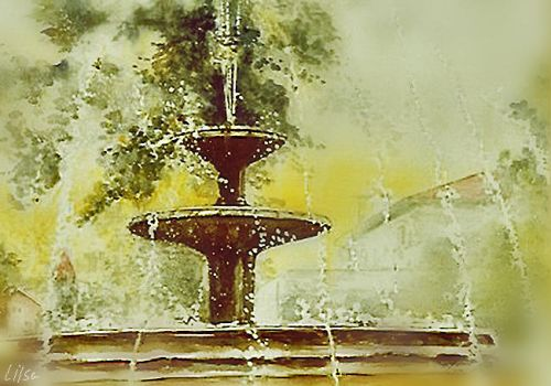 Water Fountain by happytimer