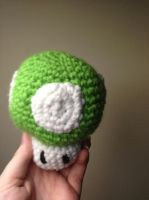Mario 1-UP Mushroom by For-The-Darkspear