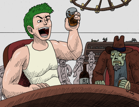 Zoro Drinks by kyrtuck