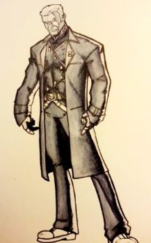 Colonial Star Marshall John Grail by addleses