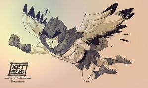 Birdperson-the early years by KetsuoTategami