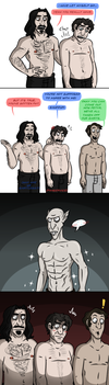 Shirts are overrated by Bakhtak