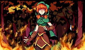 |Brawlhalla|Flames by Linmie