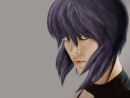 Motoko Kusanagi / Ghost in the shell Cast by alexanderwelitschko