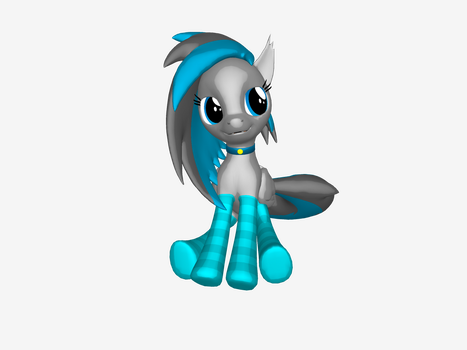 An image of myself in 3D by MareanaSweetie