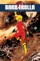 Barbarella #1 variant cover  by RobertHack