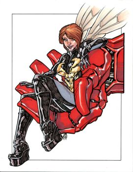 RIDDLE IS THE WASP by stalk